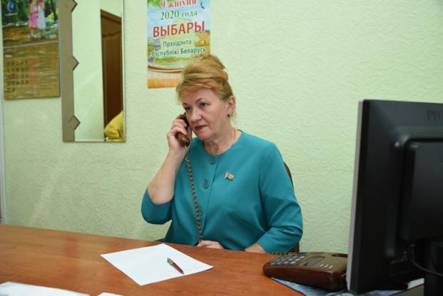 Прямая телефонная линия с избирателями 16 июня 2020 г.