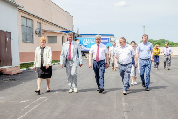 Участие в рабочем визите В.П.Андрейченко в г.Полоцк 19 июня 2020 г.