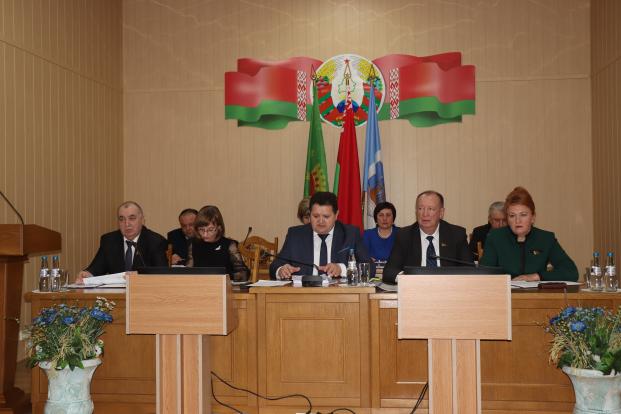 Участие в заседании Полоцкого районного исполнительного комитета 23 февраля 2021 года