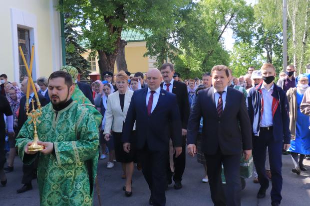 Участие 5 июня в торжествах, посвященных Дню памяти преподобной Евфросинии Полоцкой