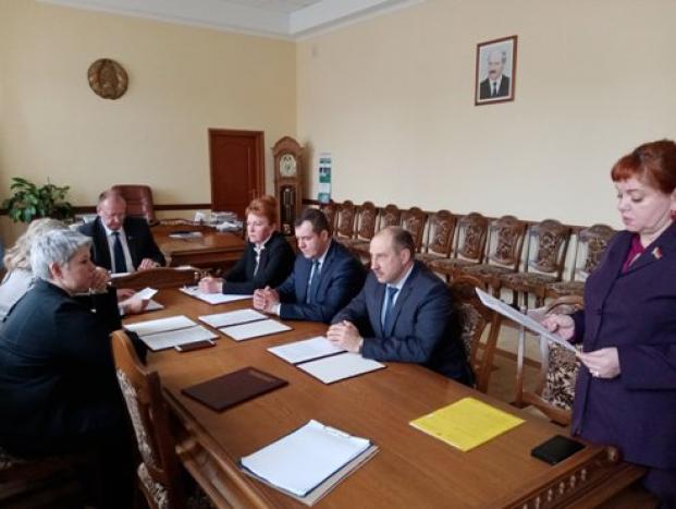 Участие в заседании президиума Полоцкого районного Совета депутатов 25 февраля 2021 года