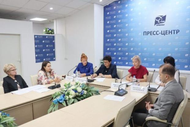 Участие в пресс-конференции «Одна страна – одна семья. Основные направления государственной семейной политики Республики Беларусь» в Доме прессы 18 августа 2021 года
