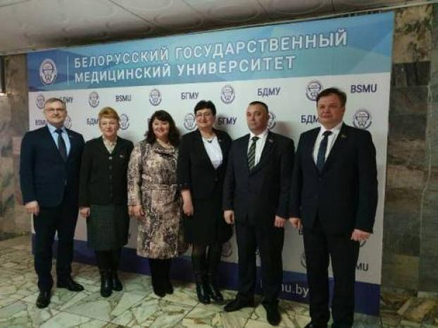 Участие в работе итоговой коллегии Министерства здравоохранения Республики Беларусь