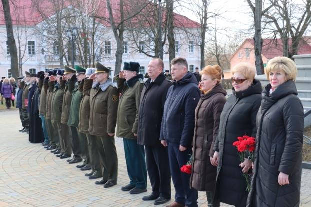 Участие в гражданско-патриотической акции, посвященной Дню защитников Отечества и Вооруженных Сил Республики Беларусь