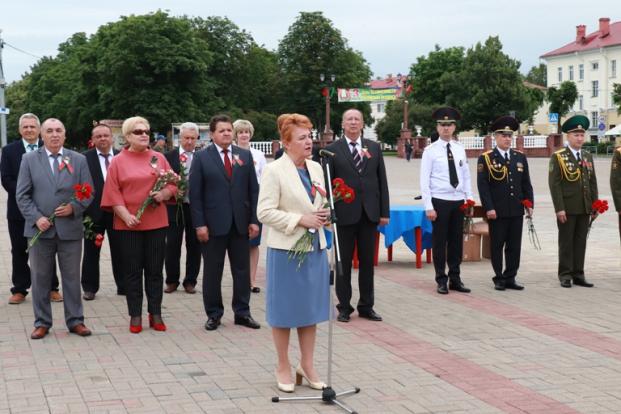 Выступление 3 июля 2020 г. на городской патриотической акции, посвященной Дню Независимости Республики Беларусь