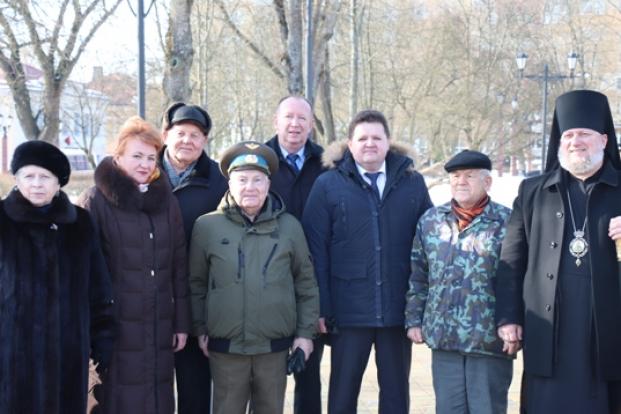 22 февраля 2021 года на городском митинге, посвященном Дню защитников Отечества и Вооруженных Сил Республики Беларусь