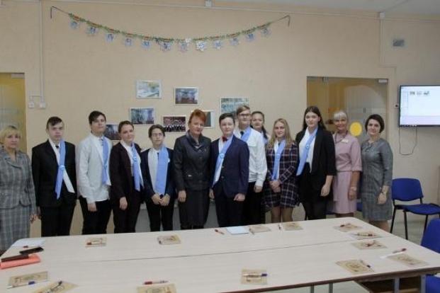 Встреча с членами Молодежного парламента