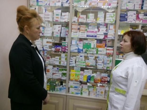 Мониторинг аптечных учреждений города Полоцка 26 февраля 2021 года