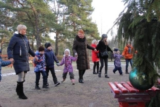 Посещение загородной резиденции Деда Мороза