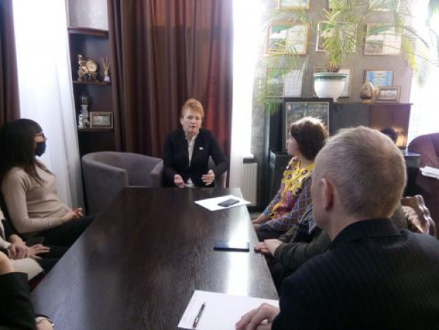 Встреча с трудовым коллективом ОАО «Гостиничный комплекс «Славянский» 26 февраля 2021 года