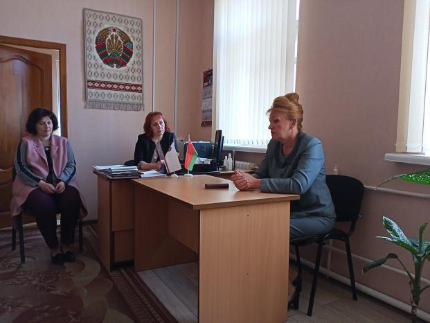 Встреча с трудовым коллективом отдела статистики Полоцкого района 31 мая 2021 года