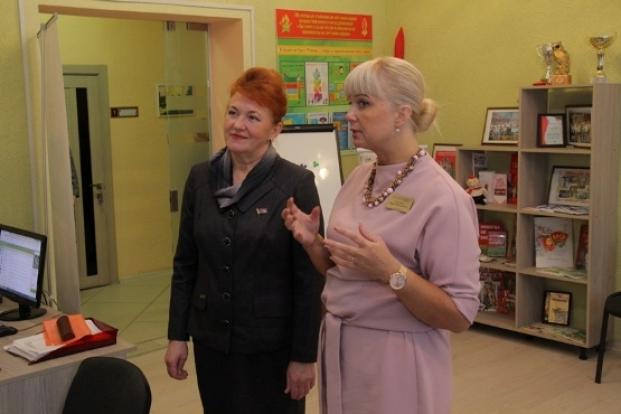 Посещение Полоцкого районного центра детей и молодежи