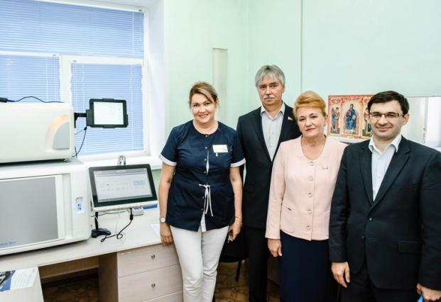 Участие в запуске нового оборудования в бактериологической лаборатории Полоцкой центральной городской больницы 24 июля 2020 г.