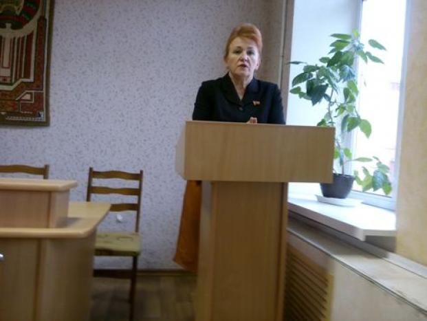 Встреча с трудовым коллективом КУП «Жилищно-коммунальное хозяйство г. Полоцка» 24 февраля 2021 года