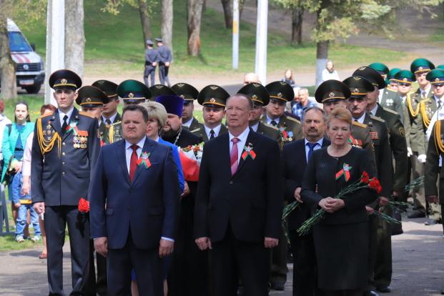 Участие в праздновании Дня Победы на Кургане Бессмертия 9 мая 2020 г.