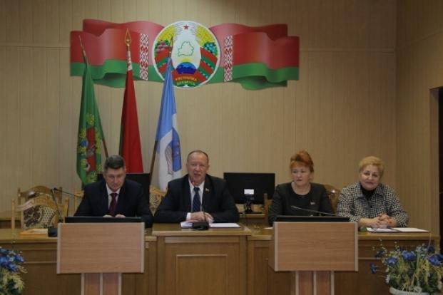 Участие в работе XX сессии Полоцкого районного Совета депутатов