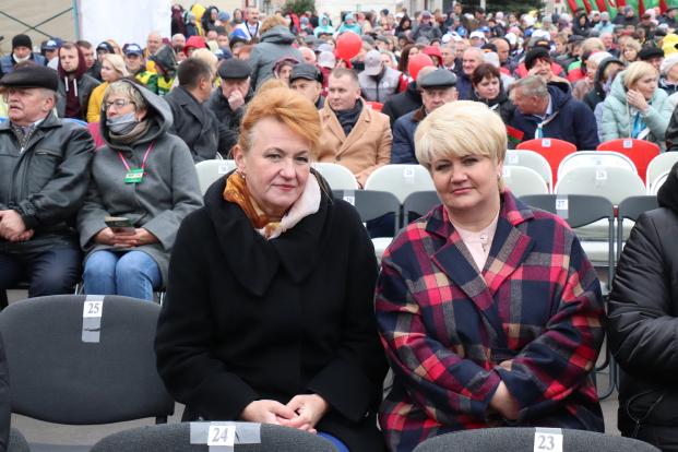 Участие 18 сентября 2021 года в областном фестивале-ярмарке тружеников села «Дажынкi-2021» в г.п. Шумилино