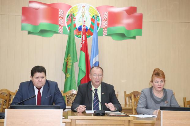 Участие в XXXI внеочередной сессии Полоцкого районного Совета депутатов 30 декабря 2020 г.