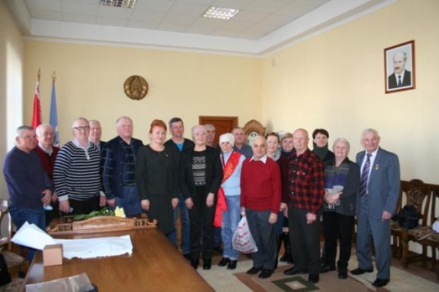 Встреча с ветеранами  физкультуры и спорта города Полоцка 11 марта 2021 года