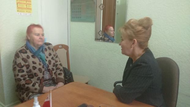 Встреча с председателем Полоцкой общественной организации «Эхо Чернобыля» Н.М. Журовой 21 апреля 2021 года