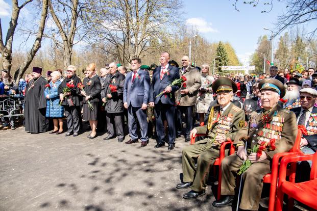 Участие в праздновании Дня Победы на Кургане Бессмертия 9 мая 2021 года