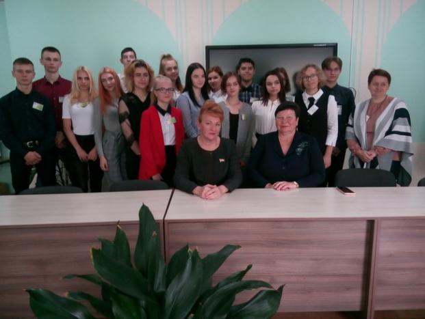 Встреча с активом Полоцкого государственного химико-технологического колледжа 21 сентября 2020 г.