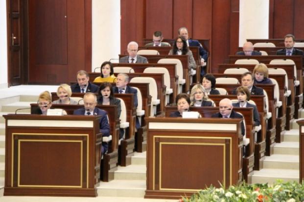 С.В.Одинцова - член секретариата второй сессии Палаты представителей Национального собрания Республики Беларусь седьмого созыва