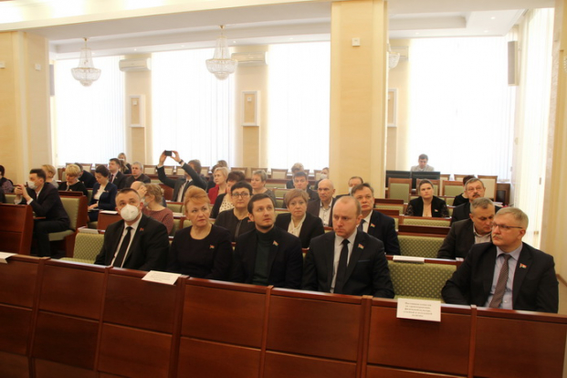 Участие 24 марта 2021 года в заседании круглого стола  на тему «Здоровое питание детей в Республике Беларусь: стратегия, качество и инновации»