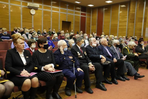 Участие в работе отчетно-выборной конференции Полоцкой районной организации Белорусского общественного объединения ветеранов 25 февраля 2021 года