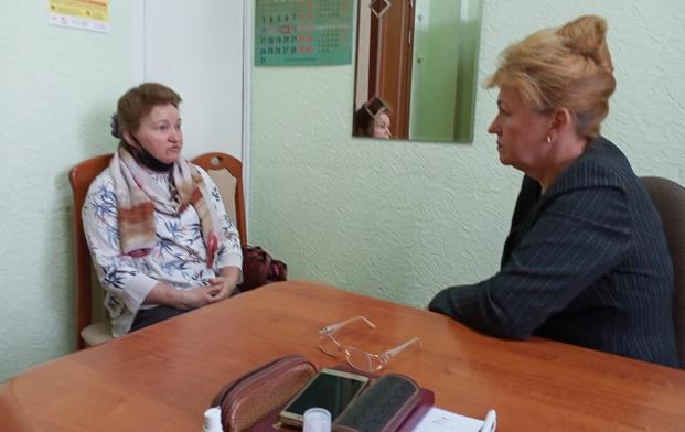 Встреча с председателем Полоцкого общественного объединения многодетных родителей  «Ладья» Н.Я.Котовой 13 мая 2021 года