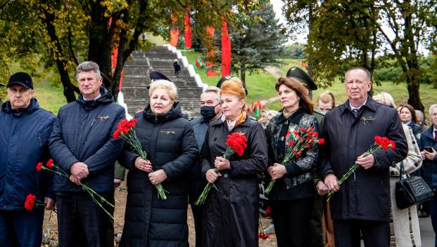 Участие 17 сентября 2021 года в торжественном открытии на Кургане Бессмертия Аллеи Героев Советского Союза