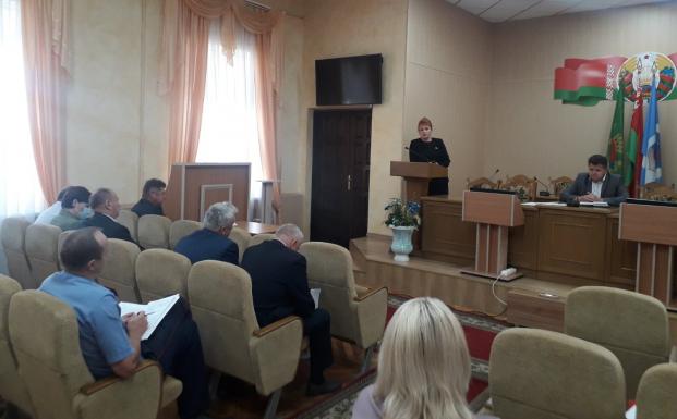 Выступление на аппаратном совещании председателя Полоцкого райисполкома 23 августа 2021 года