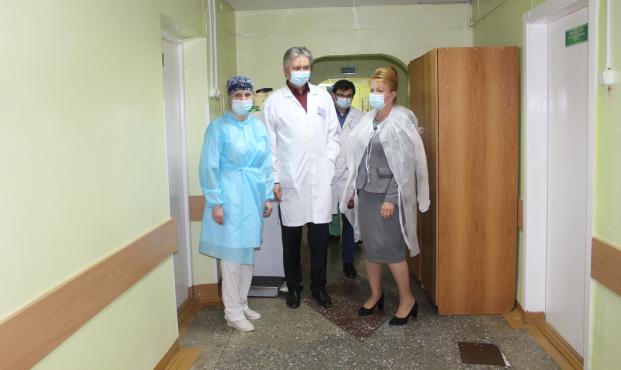 Посещение Полоцкой центральной городской больницы 4 июня 2021 года