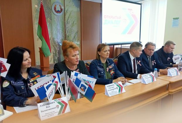 Участие 21 сентября 2021 года в работе диалоговой площадки «Студотрядовское движение: опыт и перспективы»