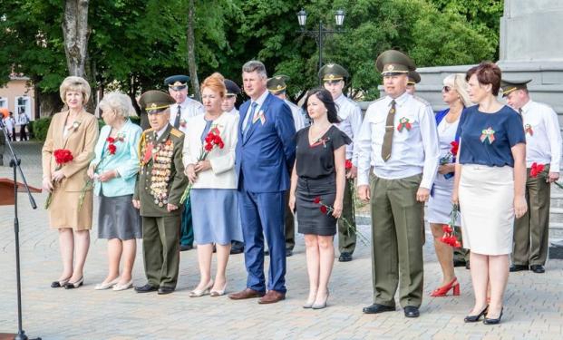 Участие 3 июля 2021 года в городской патриотической акции, посвященной Дню Независимости Республики Беларусь