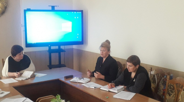 Участие 14 мая 2021 года в заседании рабочей группы по реализации  в  Полоцком районе пилотного проекта «Васильковый край»