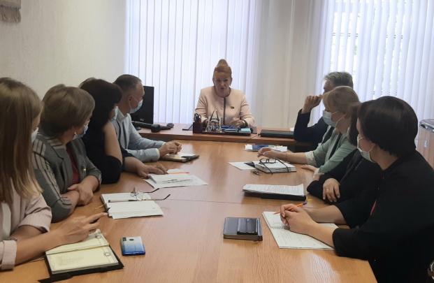 Проведение 24 августа 2021 года совещания в Полоцкой центральной городской больнице по вопросам профессиональной аттестации