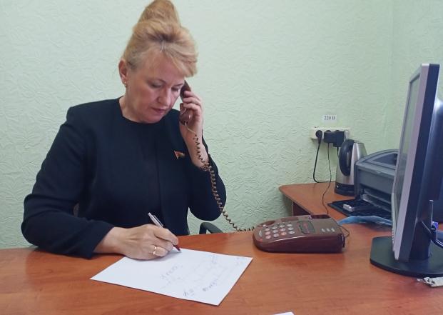 Прямая телефонная линия с избирателями 12 мая 2021 года
