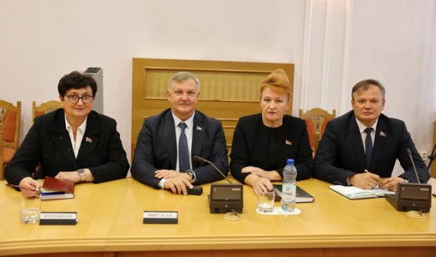 Участие в очередном заседании специальной комиссии по подготовке проекта Закона Республики Беларусь «Об изменении Конституции Республики Беларусь» 3 сентября 2021 года