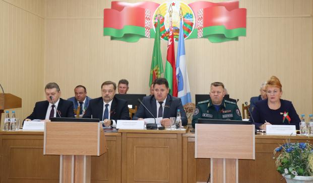 Участие в заседании Полоцкого районного исполнительного комитета 17 сентября 2021 года