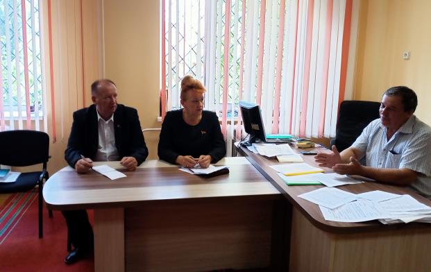 Работа на территории Солоникского сельсовета 26 августа 2021 года