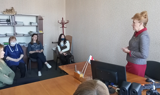 Встреча с трудовым коллективом ОАО «Полоцкбыт» 1 июня 2021 года