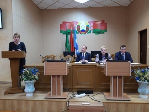 Выступление на XXIII сессии Полоцкого районного Совета депутатов 17 марта 2020 г.